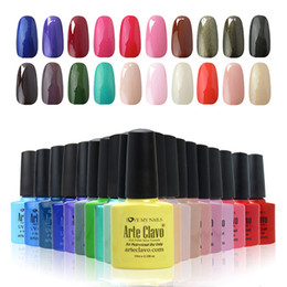 Wholesale Choose Any Colors Gel Polish Soak Off Gel Top Base Coat Arte Clavo ml Colors Glitter UV Gel Polish