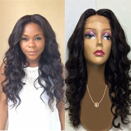 Top Quality 4x4 Silk Top Full Lace Wigs Deep Wave Brazilian Full Lace Human Hair Silk Base Wig Glueless Lace Front Wigs