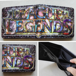 Online game League of Legends LOL Logo 01 wallets Purse Multi 12cm Leather W213