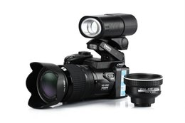 Wholesale Sharpshots cam D3300 Digital Camera Mega Pixels X Digital Zoom X Optical Zoom Telephoto Lens quot LCD Wide Angel Lens Telephotos Lens