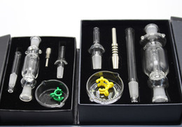 Wholesale 2pcs Micro NC Set with domeless Tai Nail mm mm mm Micro NC kit water pipes recycler oil rigs mini glass bongs