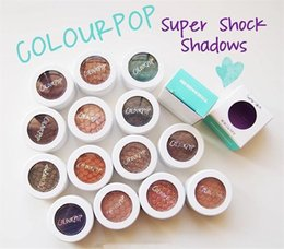 Wholesale 2016 of the latest best selling Colourpop Super Shock Eyeshadow Powder durable waterproof high pearlescent cosmetics DHL