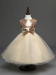 Hug Me Girls Tutu lace Dress Childrens Dress Bowknot Sequins 2016 Summer Casual Fashion Sleeveless Vest Dress