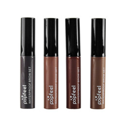 Wholesale Popfeel Eyebrow Mascara Cream Eye Brow Shadow Makeup Set Kit Waterproof Colors Eye Eyebrow Gel Enhancer Eyebrow Cream