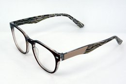 Wholesale New Eso Vision Fashion women s Lightweight optical frame recycled glasses frame lamination gafas