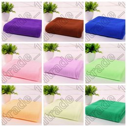 Wholesale 20PCS MMA65 Microfiber Towels Super Absorbent soft Towel Durable Beach Shower Towel Bath Towel Bamboo Hair Drying Washcloth Towels