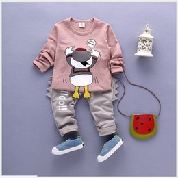 Two-Pieces Sports Sets 2016 Autumn New Baby Boys Cartoon Tracksuits Children Long Sleeve T-shirt+Pants Kids Casual Suits Infant Boy Outfits