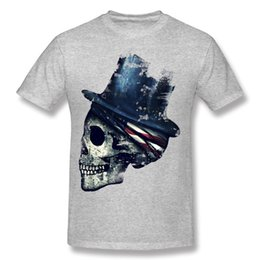 Ancient Decay Printing On T Shirts Teenage Male Shirt Printing Adult O-Neck Casual Shirts For Men Personality O-Neck Custom Work Tshirts