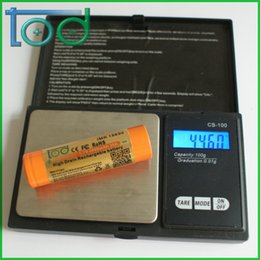 Factory directly sell TOD IMR 18650 3.7V 2000mAh 30A High Drain Rechargeable Battery with protected cell best for E-Cigarette