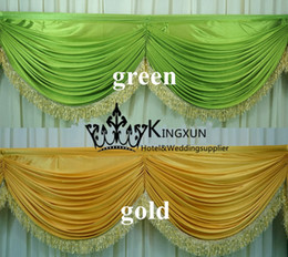 Wholesale Swag Drape Only Can Fir Table Skirt Backdrop Curtain And Other Wedding Decoration