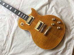 Slash 1959 Tiger Flame Mahogany Body Ebony fingerboard Electric Guitar