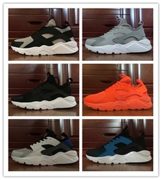 Wholesale With Box Cheap New Air Huarache IV Running Shoes For Men Man Top Quality Breathable Huaraches Ultra Sport Sneakers Size US