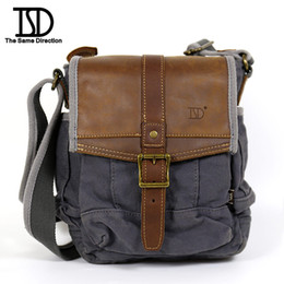 2016 Special Messenger Bags men Hot Sale! Tsd Vintage Men Messenger Bags Canvas Shoulder Bag Business fashion Travel free Shipping60