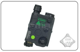 Wholesale New Upgraded Version Of the Function PEQ Green Laser Sight LED Flashlight Black for AEG GBB CQB