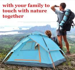 Wholesale Quick Automatic Opening Tent Hydraulic Automatic Tent Camping Shelters UV protection Waterproof Double deck Protective Outdoors Tents