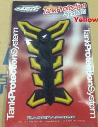 Motorcycle fuel tank decals 3D Stickers yellow red white Cheap tank williams High Quality tank connection