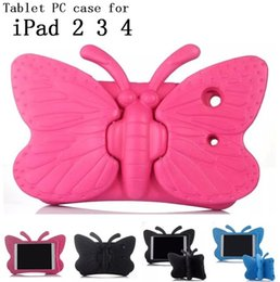 Hot Sales Shockproof Kids Handle EVA Rugged Proof Non-toxic Safe Foam Case Cover For Apple for iPad 2 3 4