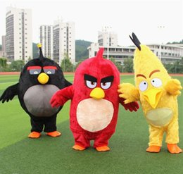 Wholesale 2016 Custom made high quality angry red birds mascot costumes bear for adults mascot costume festival fancy dress