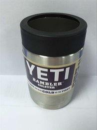 Wholesale Yeti OZ OZ OZ Cups Cooler YETI Rambler Tumbler Travel Vehicle Beer Mug Double Wall Bilayer Vacuum Insulated Stainless Steel