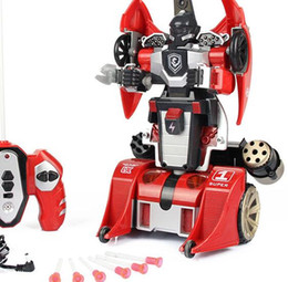 Shong Transformers rechargeable remote control car model toy car Man catapult children remote control car can be customized free shipping