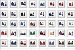 Wholesale Sport skint Winter Beanies Warm football Beanies with Pom Brand Football Caps Sports Caps Beanies Athletic Headwears Highest Quality Beanies