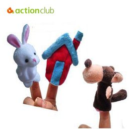 Wholesale New Funny Toys fantoches Holiday Sale Lovely Speaking Animal Puppet Kids Love Hand Puppet baby doll