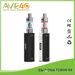 Original iSmoka Eleaf iStick TC 60W Box Mod Full Kit Temperature Control with Melo 2 Atomizer VS IJOY CAPO 100W PD270