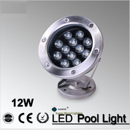 IP68 LED fountain light LED pool light Led underwater light, piscina , 12W 12VAC Led landscape spot lamp LPL-A-12W-12V