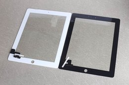 For iPad 2,iPad 3 and iPad 4 Touch Screen Digitizer pannel replacements with home button and adhesive mini 20pcs