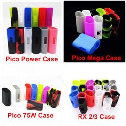 Camisa de potencia en Línea-Eleaf iStick Pico 75W Kit iStick Pico Mega Power RX 2/3 Funda de Protección Fit istick Pico E-Cigarrillo Funda de Caucho Funda de Silicona