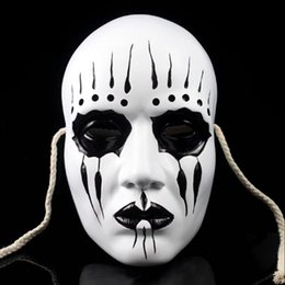 Wholesale Party Masks Festive Party Supplies Resin Edition Slipknot Movie Theme Slipknot Joey Mask PVC Halloween Gfts Beautiful