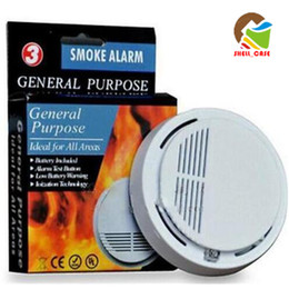 SS 168 smoke alarm 3 Smoke fire Detector Photoelectric Wireless Battery-operated Home Security smoke Fire Alarm Sensor High Sensitivity 50pc