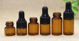 3ml vape juice essential oil amber glass vial, 1ml vape glass vial, sample vial mini eliquid 2ml glass bottle