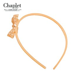 Wholesale Chaplet New Luxury Hair Accessories for Girls High Quality Rhinestone Hair Jewelry Bow Headbands Aesthetic Design Girls Hairbands