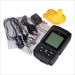 Wholesale Waterpoof Russian Wireless Fish Finder KHz Frequency Bottom Contour M Fishfinder Sensor Fishing Camera FFW718LiW