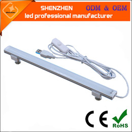 Wholesale 5v LED bar light USB charging bank notebook eye protection for office furniture kitchen and outdoor bar lamp led rigid strip