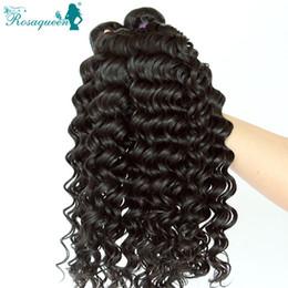 2017 24 profonds faisceaux de cheveux bouclés 7A Etat brésilien vague profonde 3 Bundles Sexy Formula Hair Virgin Brazilian Hair Brazilian Curly Weave Non Transformé Cheveux
