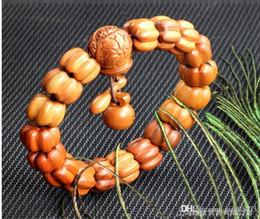 brazalete de pulsera de jujuba hombres de madera pulsera brazalete de pulsera de piedras preciosas de Buda