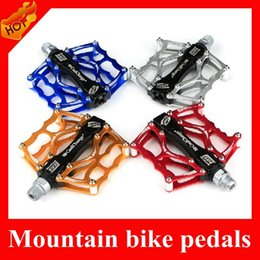Wholesale Ultralight MTB Bike Pedals Upgrade Aluminum Alloy Bicycle Bike Pedal With Bearing For Mountain Bike Cycling BMX parts