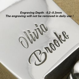 Wholesale Engraving Service For Bracelet Customize High Detail Deep Engraved Unique Gift Service Only You need to Order First