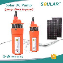 Wholesale DC Electric Submersible Solar Water dc solar pump for agriculture Years Warranty