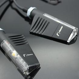 Wholesale 2x Motorcycle Graffio Aluminum LED Turn Signal Light Indicator Flash Lights Blinker Universal FOR Rzm YAMAHA