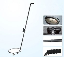 Wholesale Check the bottom mirror mirror with bottom wheel telescopic rod V3 security instrument chassis wide angle lens search