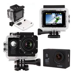 2017 caméra de voiture de vélo DHL gratuit! Sport Waterproof de SJ9000 Camera 2.0