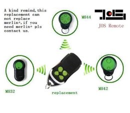 Wholesale For Merlin M842 M832 M844 replacement Remote Control Garage Door opener transmitter Top qualityand Best price