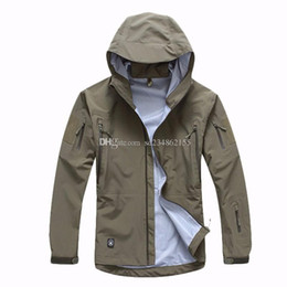 Wholesale 2016 men jacket military clothing hardshell hunting clothes camouflage army autumn jacket and coat for men windbreaker coat