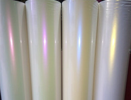 Wholesale Sticker Wrapping Film White - Glossy Pearl Ceramic White Chameleon Color Gradual Change Vinyl Film Car Wrapping Sticker with Air Drains Fedex Free shipping 1.52m*20m roll