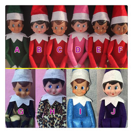 Wholesale 60PCS New Style Christmas Elf Plush toys On The Shelf Elves Xmas dolls And Soft Back Books For Kids Holiday And Christmas Gift