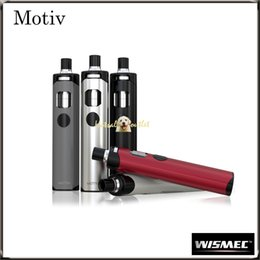 Wholesale Authentic Wismec Motiv Kit with ml Built in Atomizer mAh Battery Capacity Wismec s Motiv Kit is a Shenzhen Must have