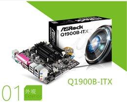 Wholesale ASROCK ASRock Q1900B ITX Intel J1900 quad core processor integrated CPU motherboard